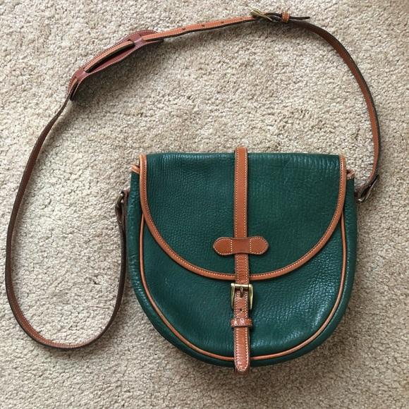 Dooney   Bourke Bags   Dooney Bourke Vintage Green All Weather ... eb171c978a